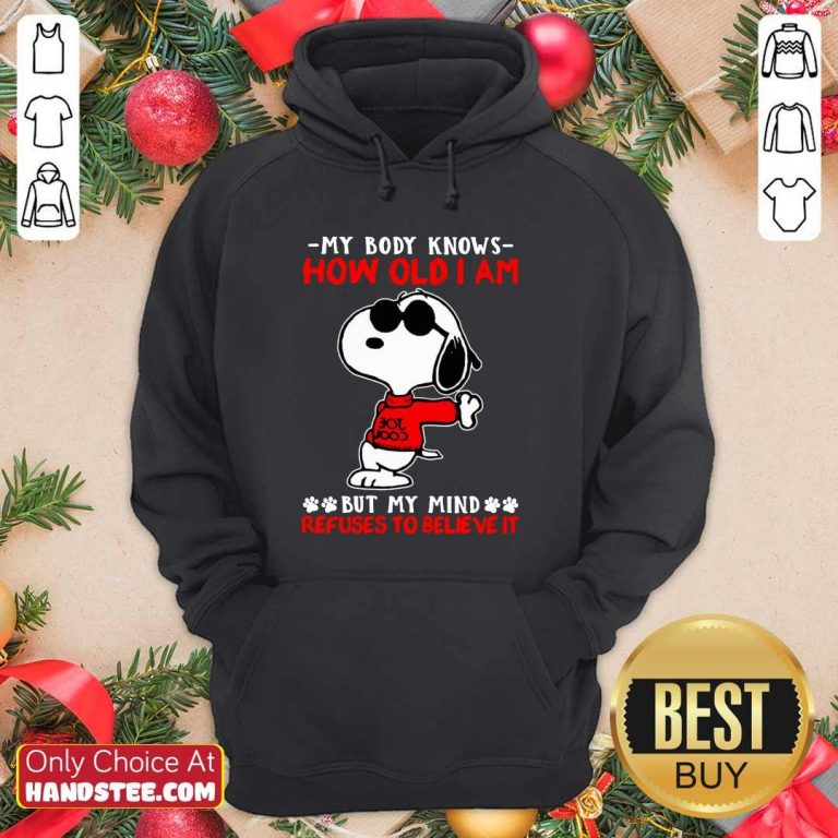 Hot Snoopy How Old I Am 11 Hoodie - Design by Handstee.com