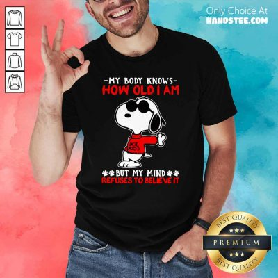 Hot Snoopy How Old I Am 11 Shirt - Design by Handstee.com