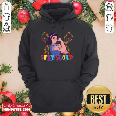 Hot Sped Squad Autism Education 15 Hoodie - Design by Handstee.com