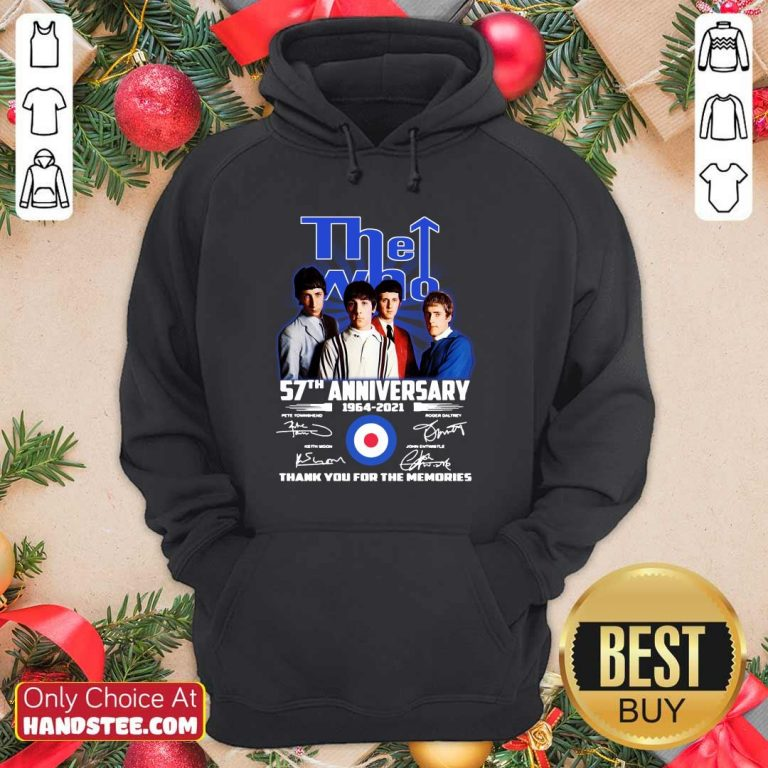 Hot The Who 57th Anniversary Hoodie - Design by Handstee.com