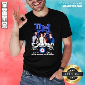 Hot The Who 57th Anniversary Shirt - Design by Handstee.com