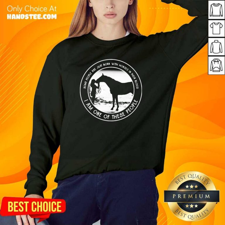 Hurt Just Born With Horses In Blood Sweater