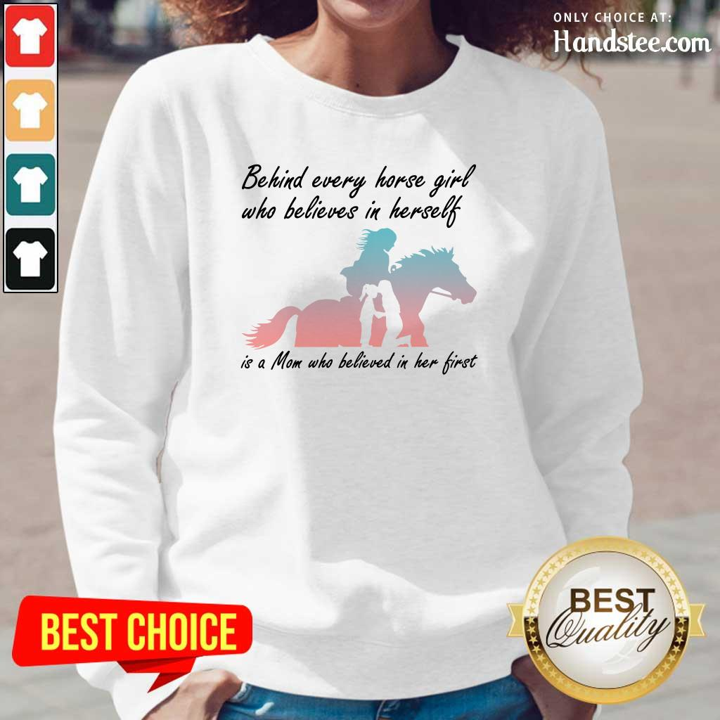 Irritated Every Horse Girl Who Believes In HerselfLong-Sleeved
