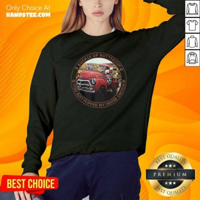 Keen Cow Buckle Up Buttercup Witch Farm 5 Sweater