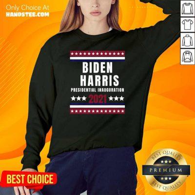 New Biden Harris Inauguration 2021 SweatShirt - Design by Handstee.com