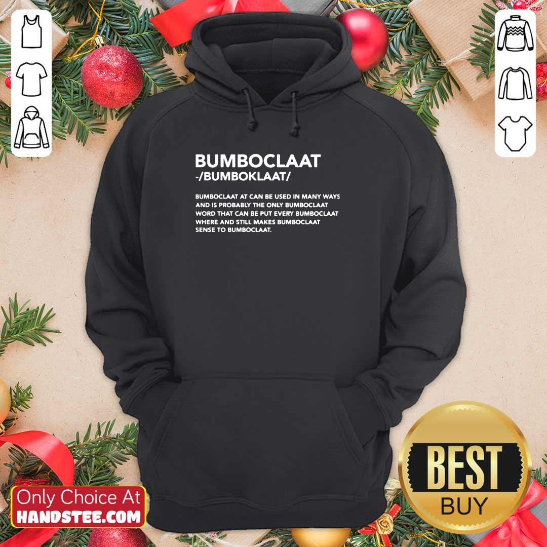 New Bomboclaat At Can Be Used 9 Hoodie - Design by Handstee.com