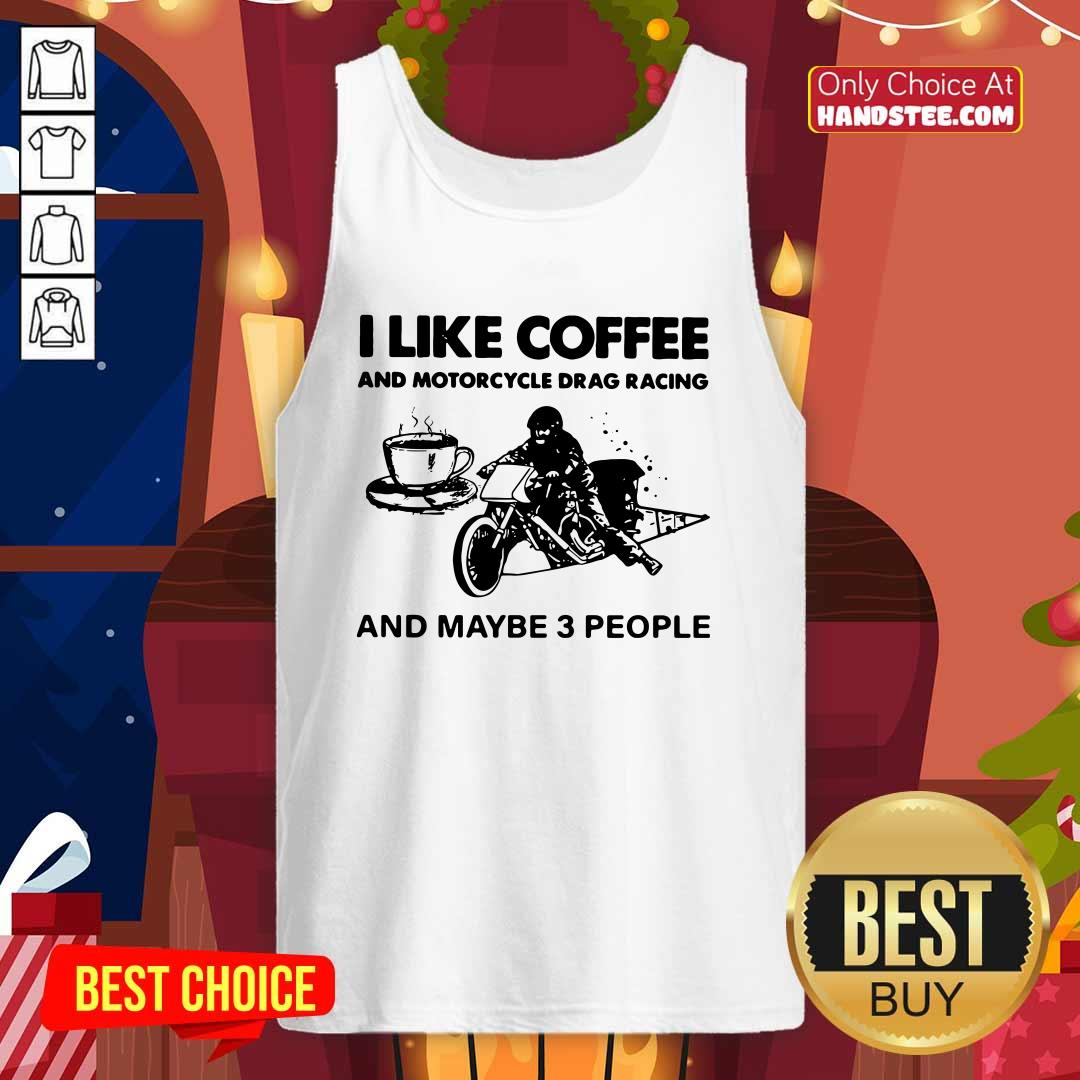 New I Like 22 Coffee And Motorcycle Tank Top - Design by Handstee.com