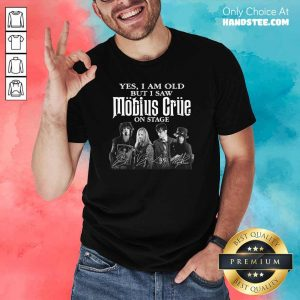 New I Saw Mobius Grue On 15 Stage Shirt - Design by Handstee.com