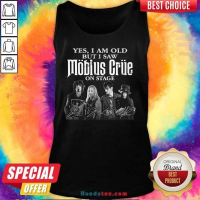 New I Saw Mobius Grue On 15 Stage Tank Top - Design by Handstee.com