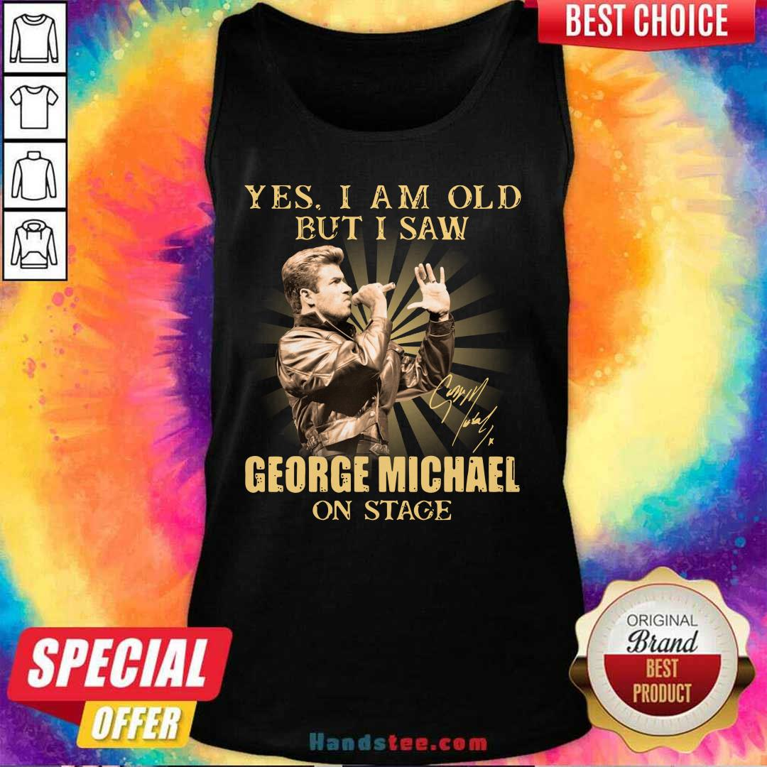 New Saw 8 George Michael On Stage Tank Top - Design by Handstee.com