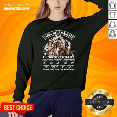 New Sons Of Anarchy 13th Anniversary SweatShirt - Design by Handstee.com