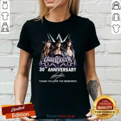 New Undertaker 30th Anniversary V-neck - Design by Handstee.com