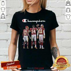 New Washington Redskins Champion 2020 V-neck - Design by Handstee.com