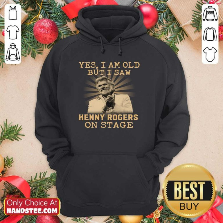 New Yes 44 Kenny Rogers On Stage Hoodie - Design by Handstee.com