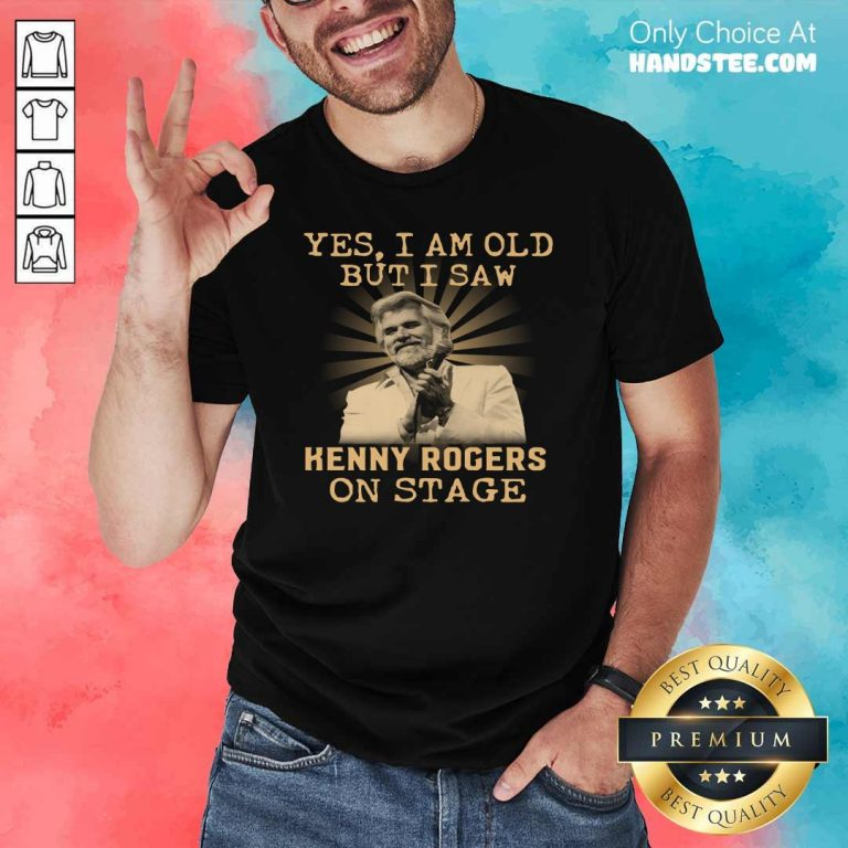 New Yes 44 Kenny Rogers On Stage Shirt - Design by Handstee.com