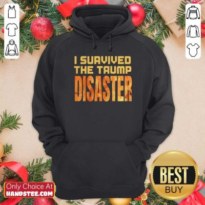 Nice I Survived The Trump Disaster Election Hoodie - Design by handstee.com