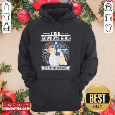 Nice Im A Dallas 53 Cowboys Girl Hoodie - Design by Handstee.com