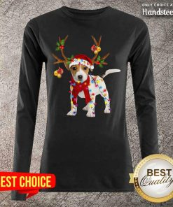 Nonplussed Jack Russell 24 Gorgeous Reindeer Christmas Long-Sleeved - Design by Handstee.com