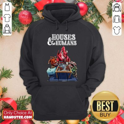 Offical Houses And Humans Hoodie - Design by handstee.com
