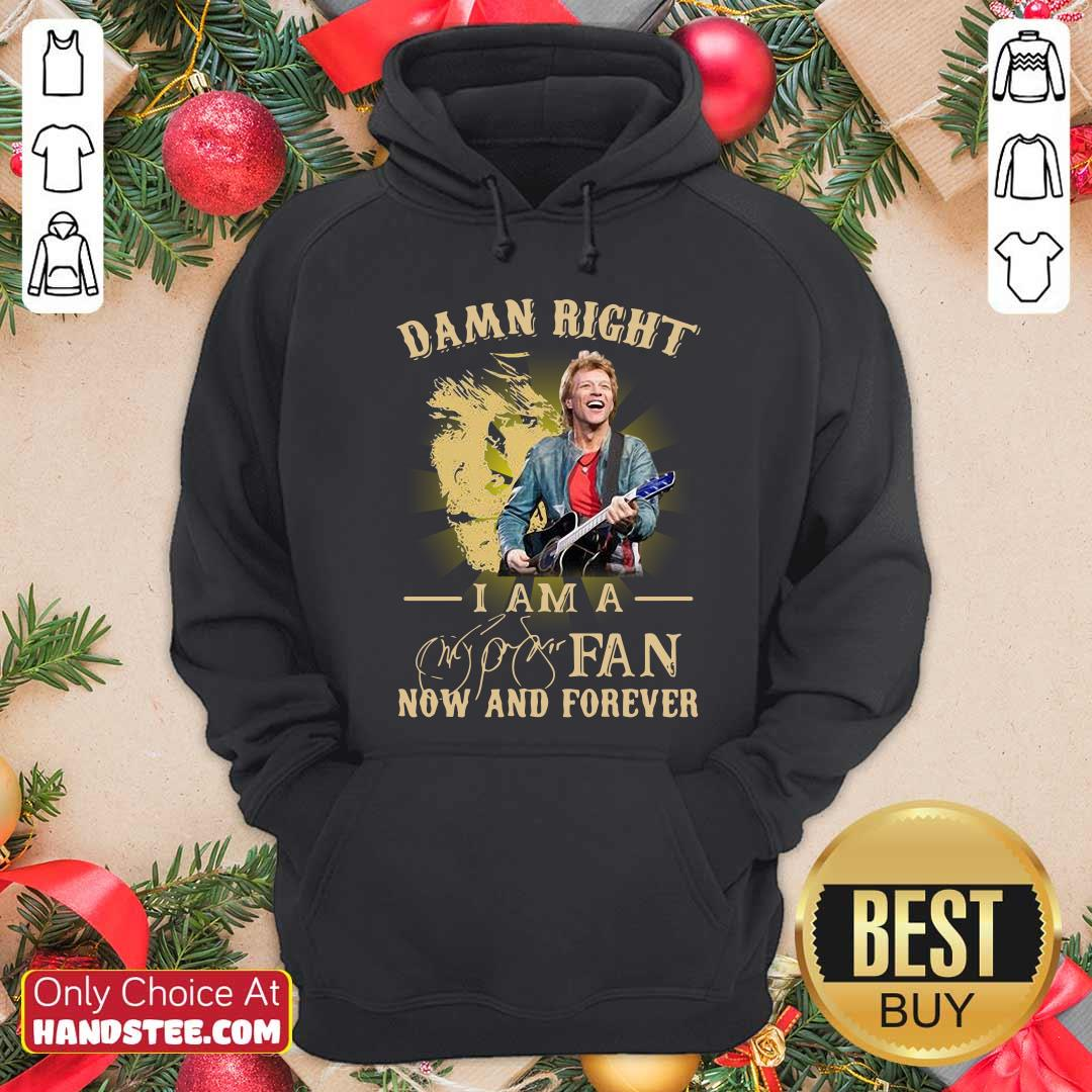 Official Damn Right I Am A Fan Now And Forever Signature Hoodie - Design by handstee.com