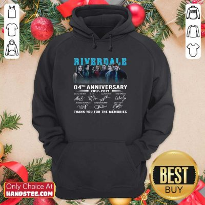 Perfect Riverdale 04th Anniversary Hoodie - Design by Handstee.com