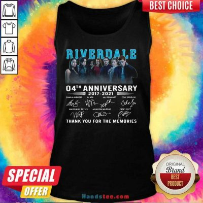 Perfect Riverdale 04th Anniversary Tank Top - Design by Handstee.com