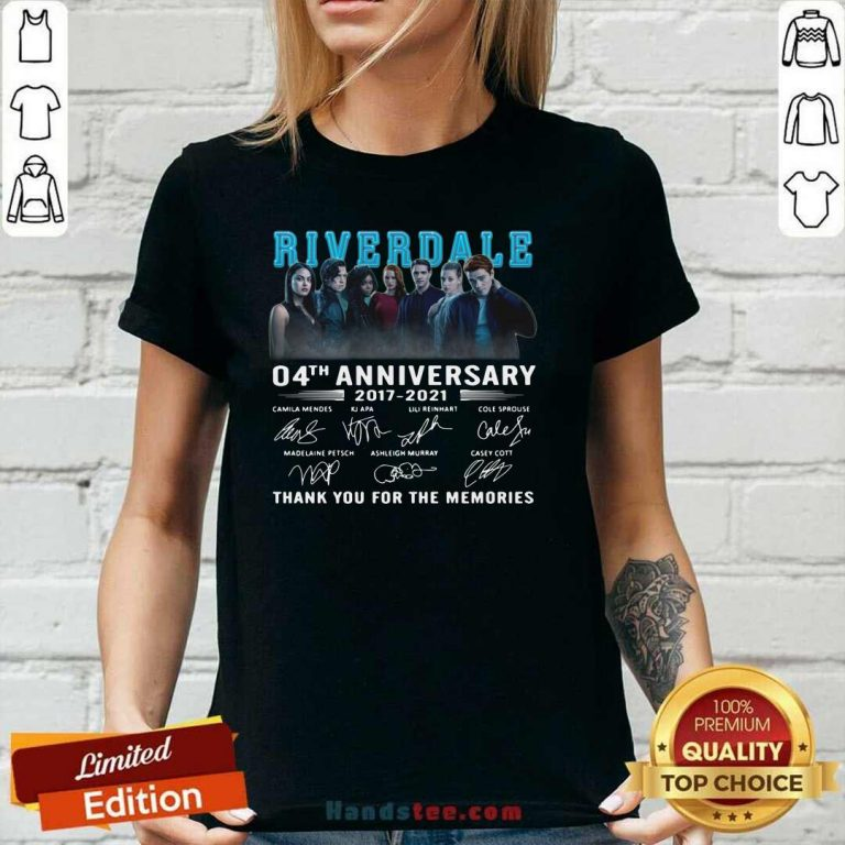 Perfect Riverdale 04th Anniversary V-neck - Design by Handstee.com