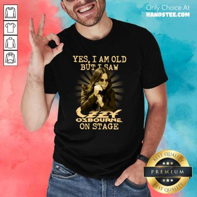 Perfect Yes Ozzy Osbourne On Stage 16 Shirt - Design by Handstee.com
