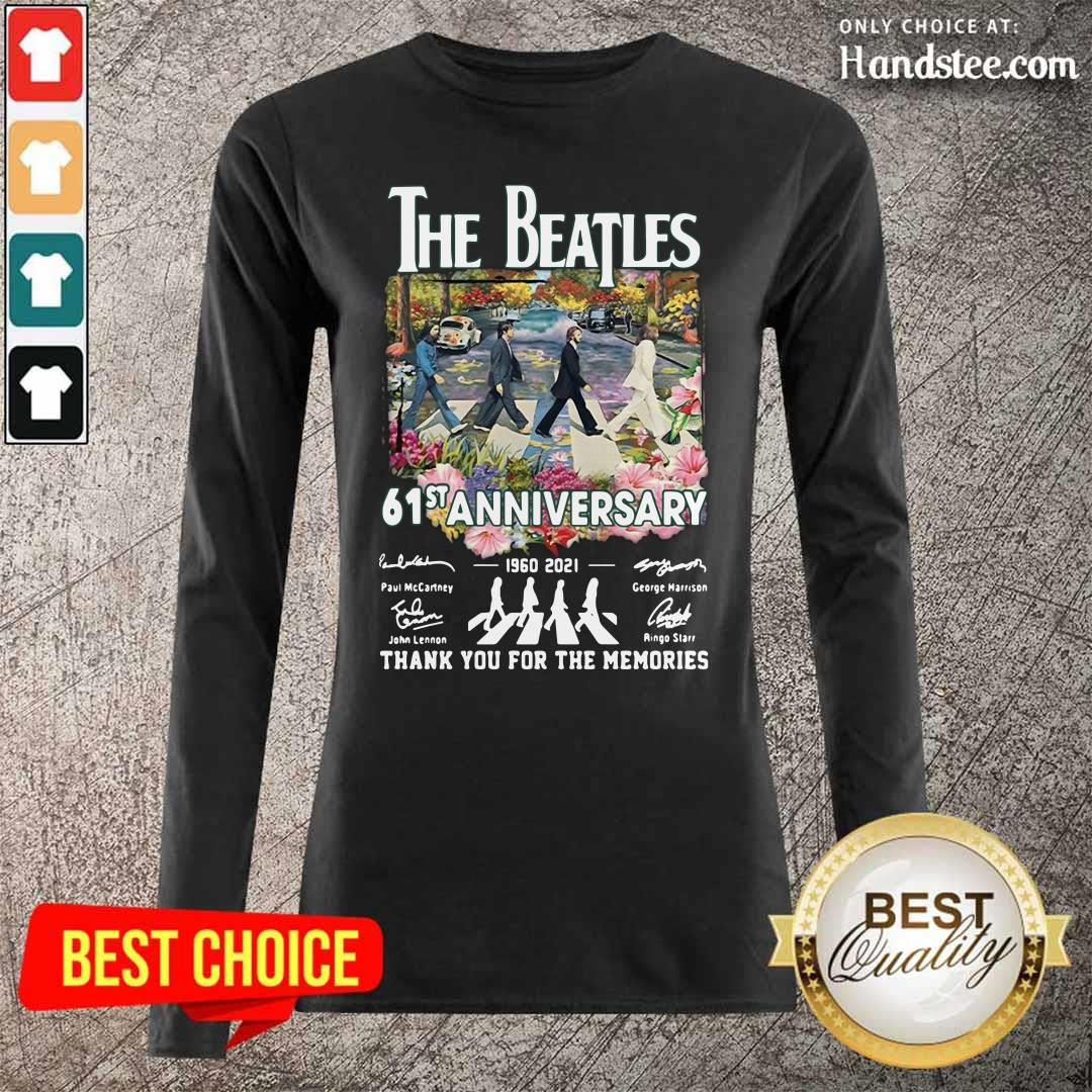 Great Very The Beatles 61st Anniversary Long-Sleeved