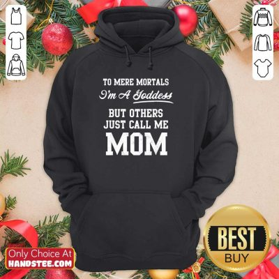 Pretty Others Just Call Me 2 Mom Hoodie - Design by Handstee.com