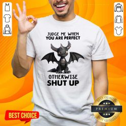 Stressed Judge Me When You Are Perfect Otherwise 13 Shut Up Dragon Shirt - Design by Handstee.com