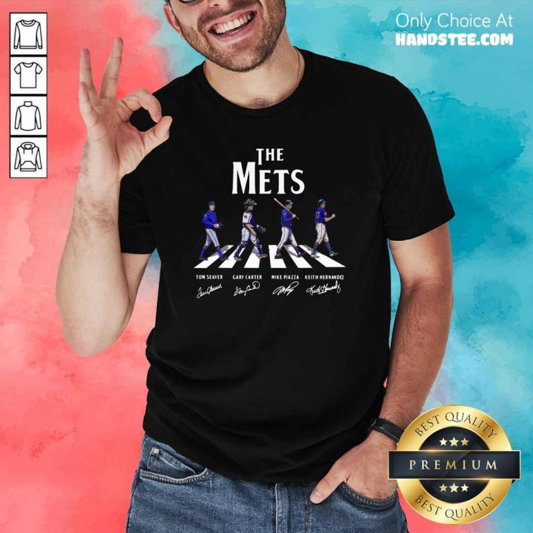 The Mets Players Abbey Road 2021 Shirt