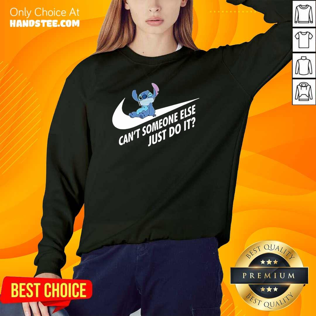 Tense Stitch Someone Else Just Do It 1 Sweater