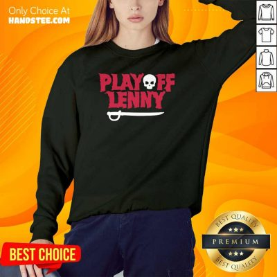 Tired Playoff Lenny Tampa Bay Football Skull 2 Sweater