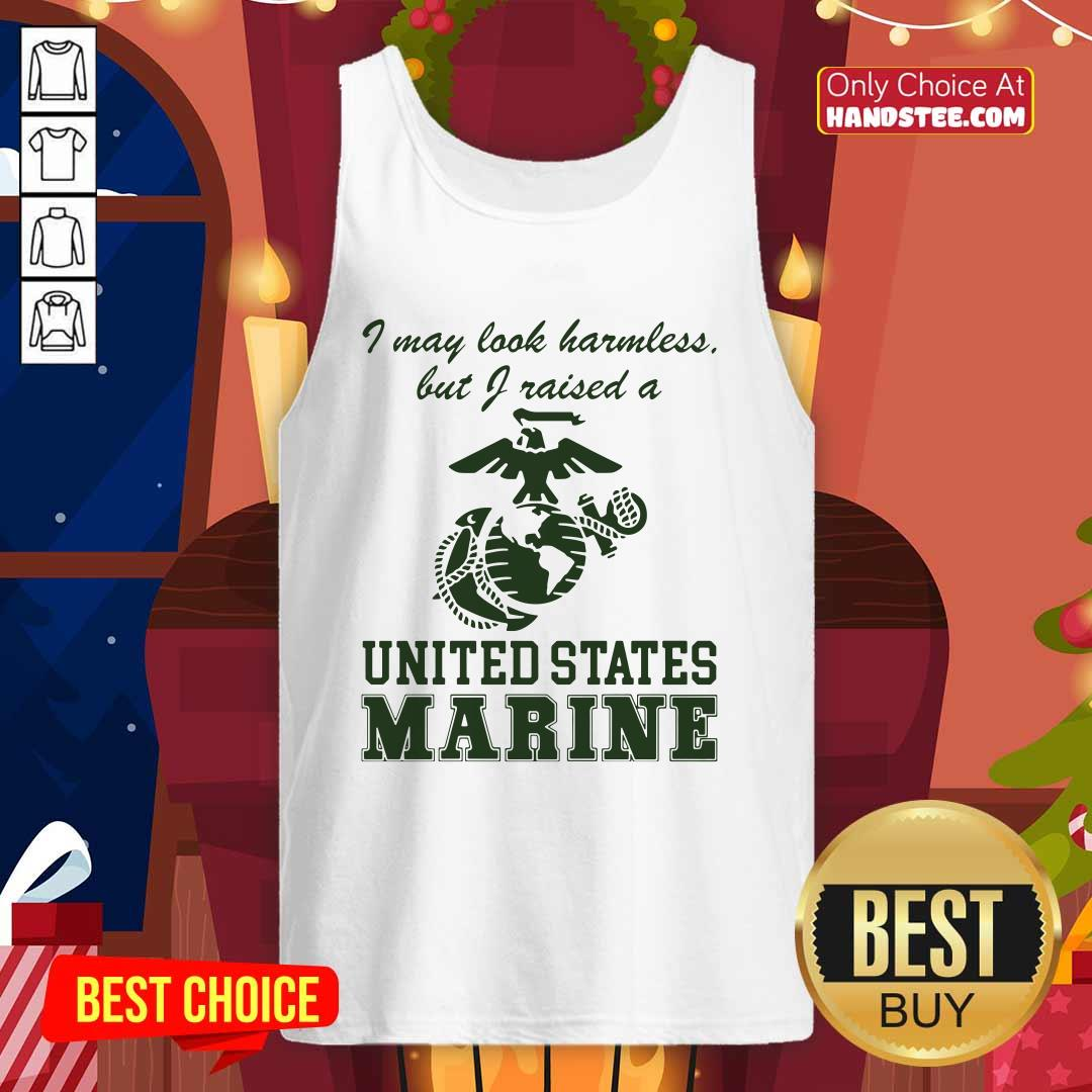 Top 8 A United States Marine Tank Top - Design by Handstee.com