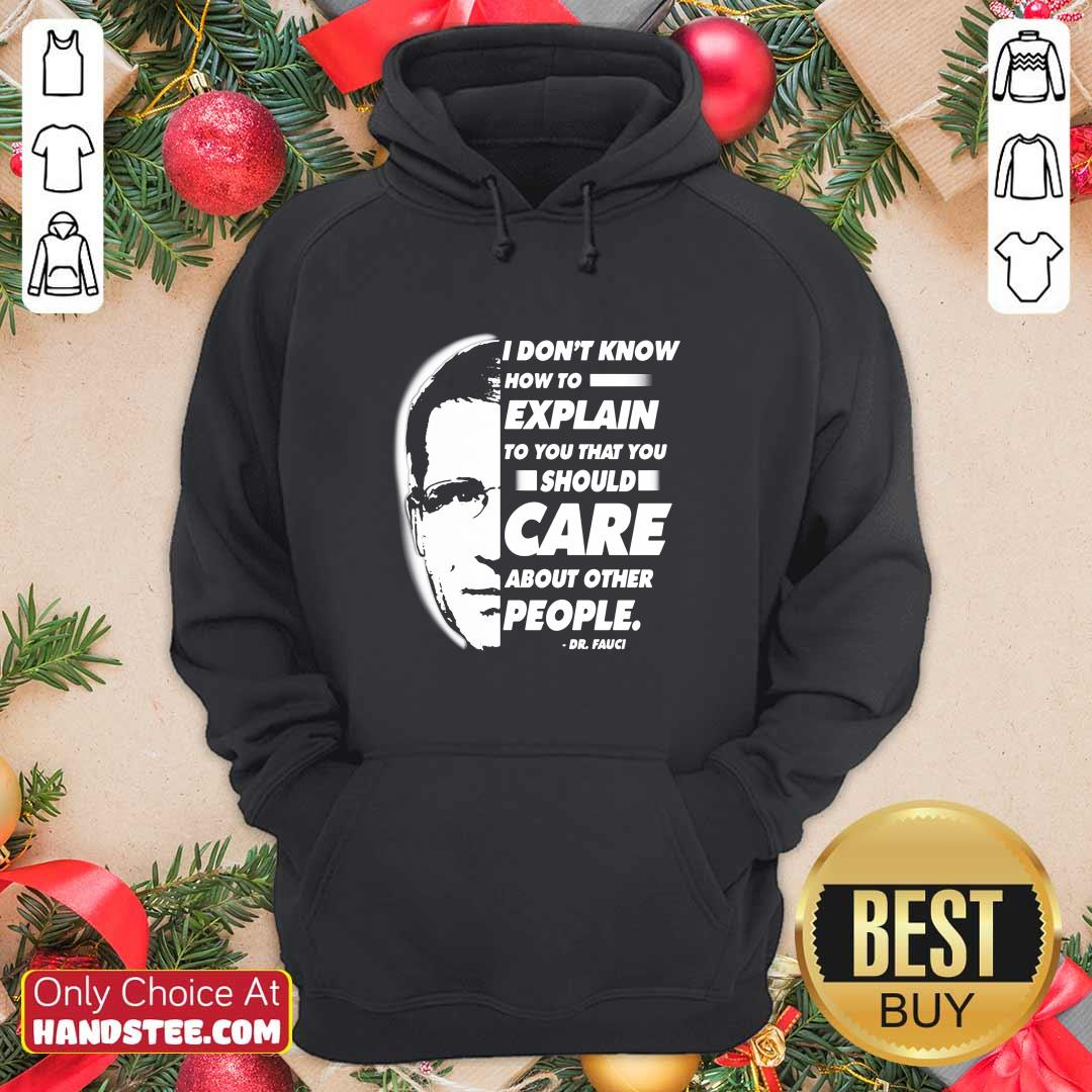 Top Care About 39 People Dr Fauci Hoodie - Design by Handstee.com