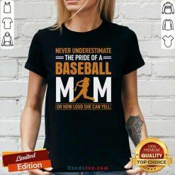 Top MIM De 25 Baseball Quel Point V-neck - Design by Handstee.com