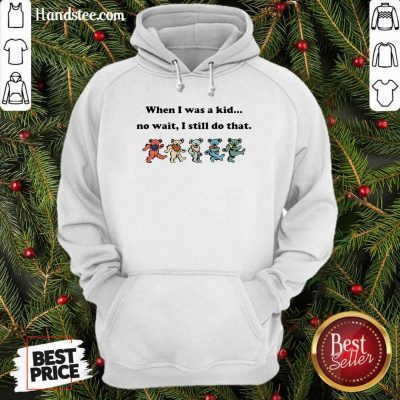 When I Was A Kid No Wait I Still Do That Dancing Bear The Beatles Hoodie - Design by handstee.com