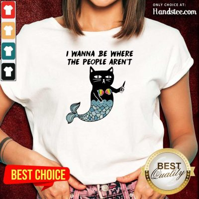 Wonderful I Wanna Be Where The 2 People Arent Cat Fish Ladies Tee - Design by Handstee.com