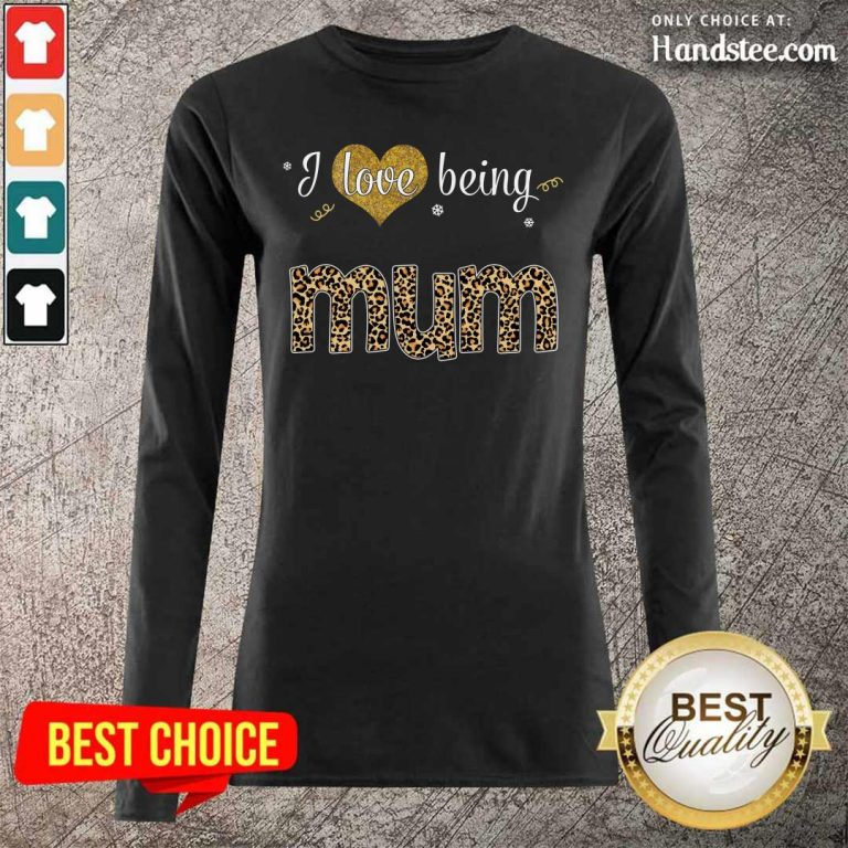 Amazing I Love 8 Being Mum Long Sleeved - Design by Handstee.com