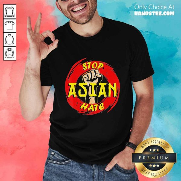Amused Stop Asian Hate Proud Asian Shirt - Design By Handstee.com