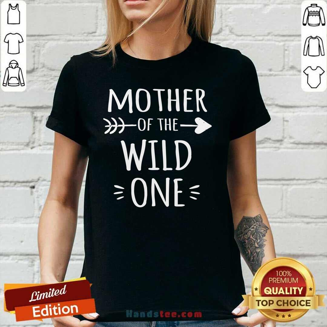 Awesome 3 Mother The Wild Ladies Tee - Design by Handstee.com