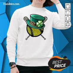 Baseball St Patrick's Day Beer Sweater - Design by Handstee.com