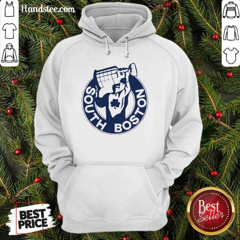 Confident 2 South Boston Champion Hoodie - Design By Handstee.com