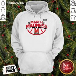 Confident Maryland 2021 March Madness Hoodie - Design By Handstee.com