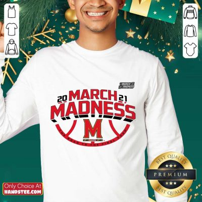 Confident Maryland 2021 March Madness Sweater - Design By Handstee.com