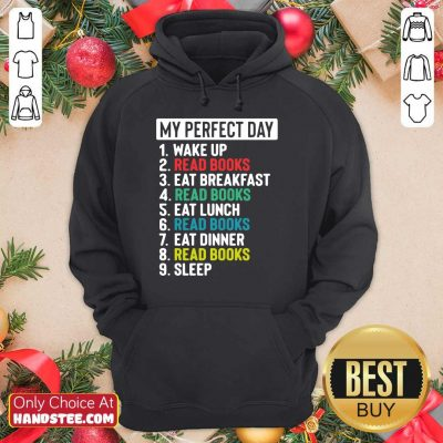 Confident My Perfect Day Hoodie - Design By Handstee.com
