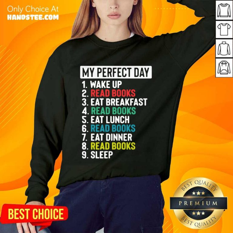 Confident My Perfect Day Sweater - Design By Handstee.com