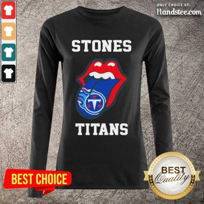Confident The Stones Titans 2021 Long-Sleeved - Design By Handstee.com