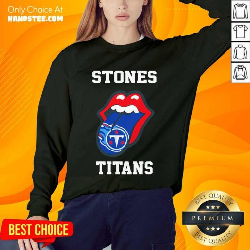 Confident The Stones Titans 2021 Sweater - Design By Handstee.com